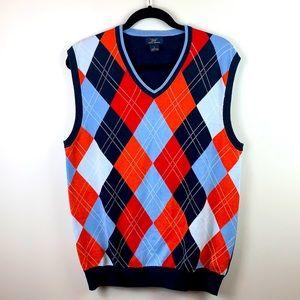 Brooks Brothers 346 Argyle Sweater Vest